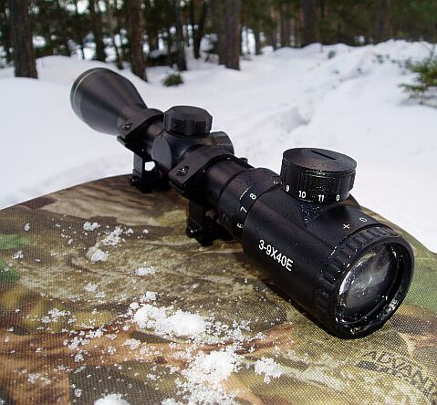 3-9x40 variable rifle scope